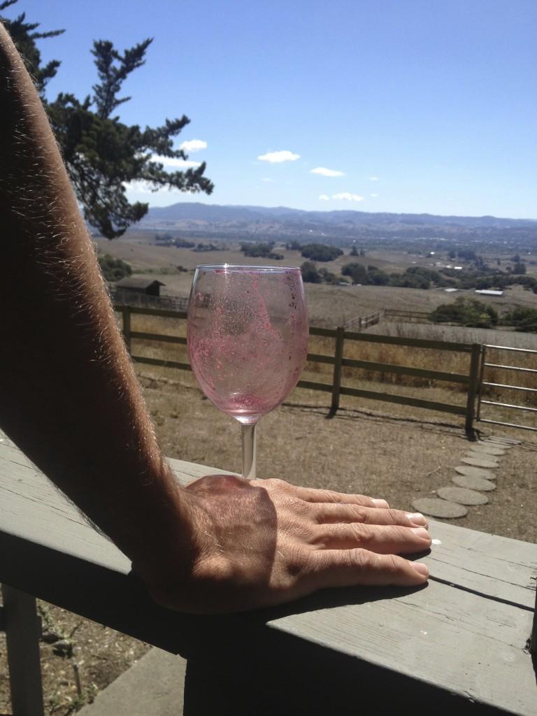 sedimentary wine