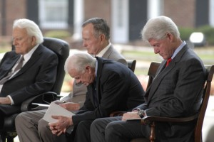 presidents praying